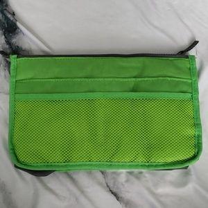Handbags - Green and Gray Bag Organizer